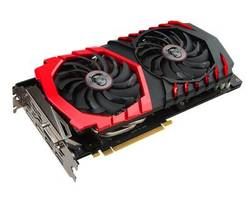 comparatif prix MSI Geforce GTX 1060 Gaming X